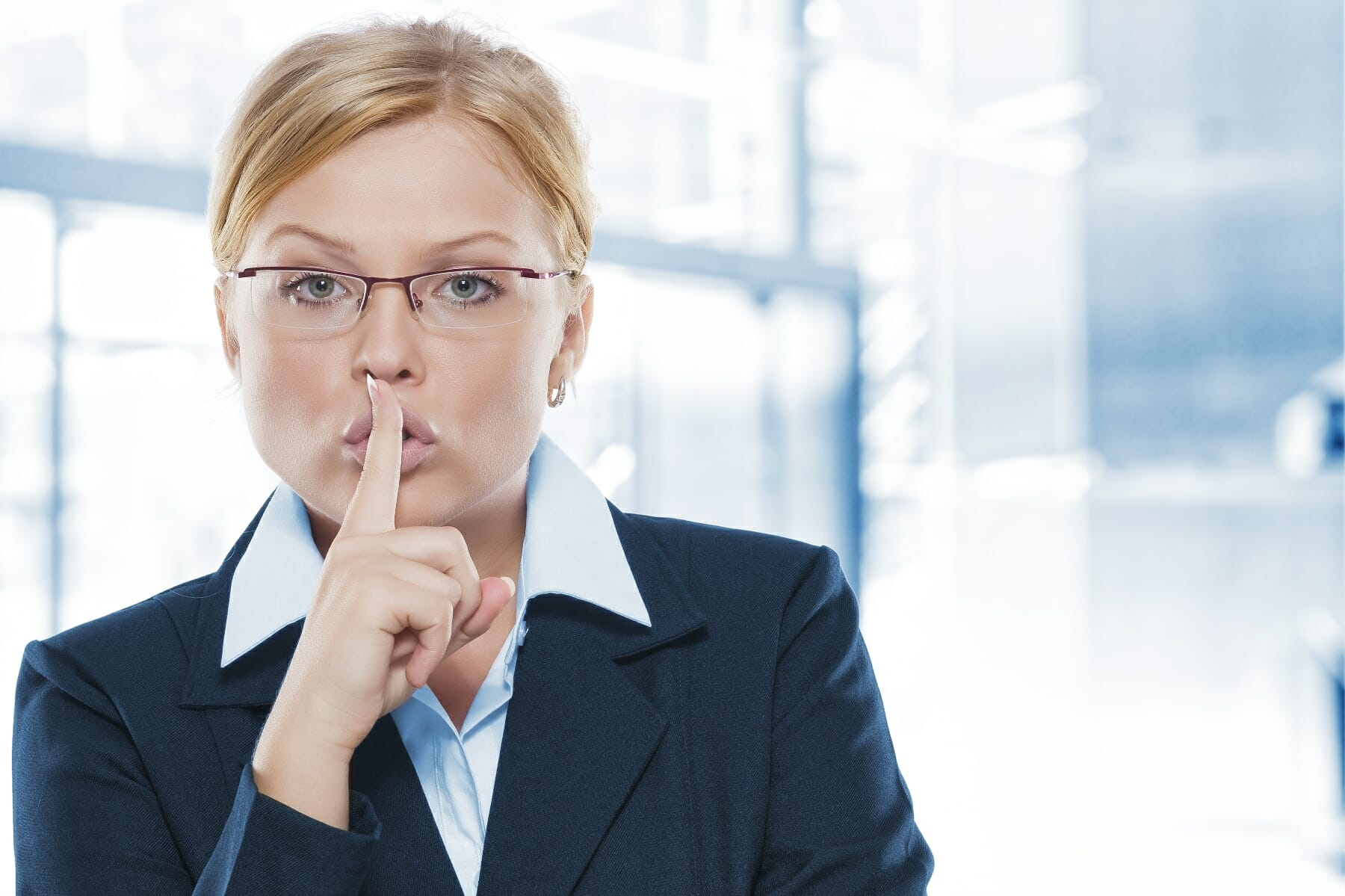 side conversations during meetings