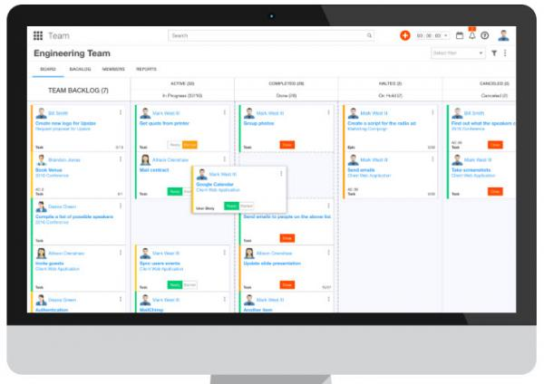 Ravetree Work Management Dashboard