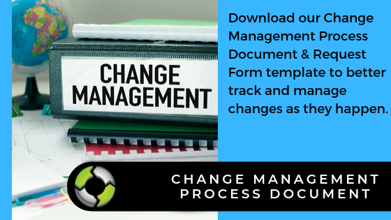 Change Management Document template